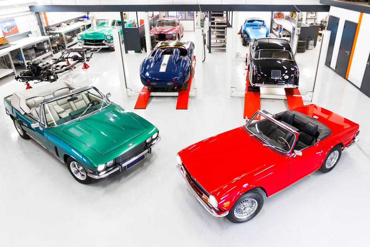 Workshop JB Classic Cars